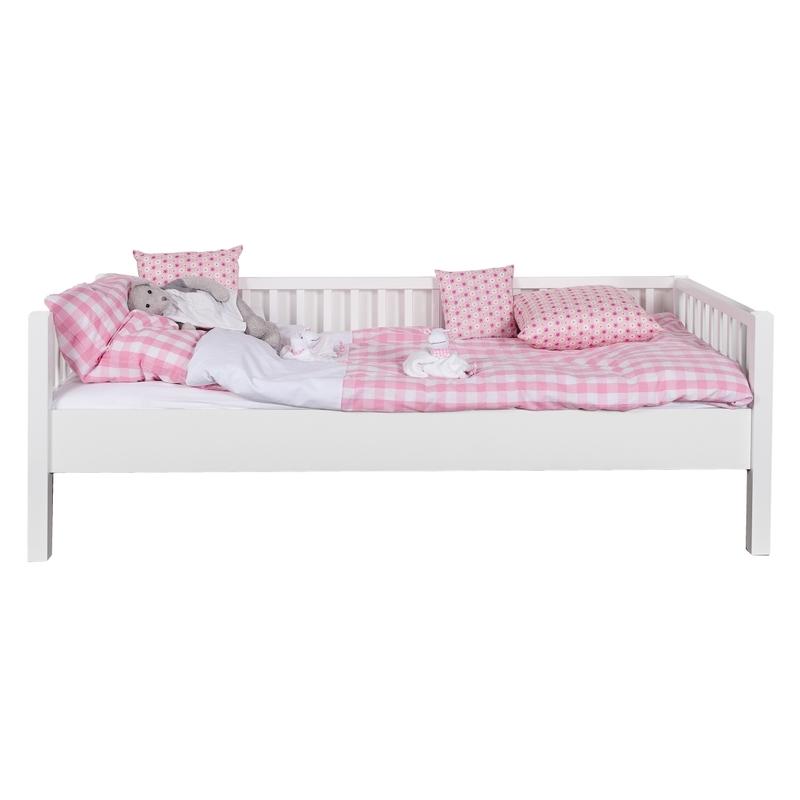 Sofabett weiß 90x200cm handmade