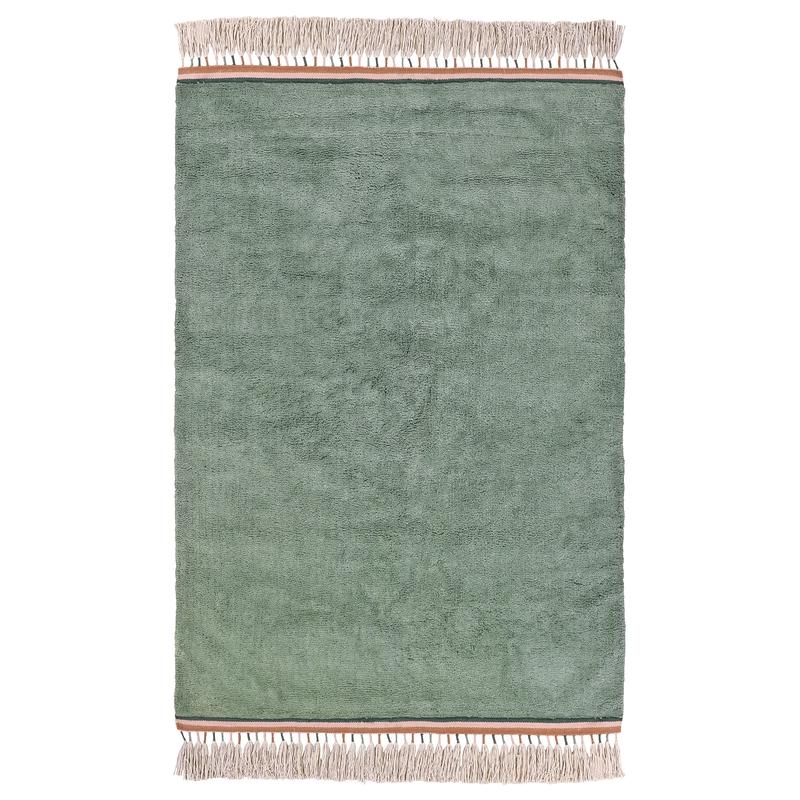 Baumwollteppich 'Julie' jade 120x170cm
