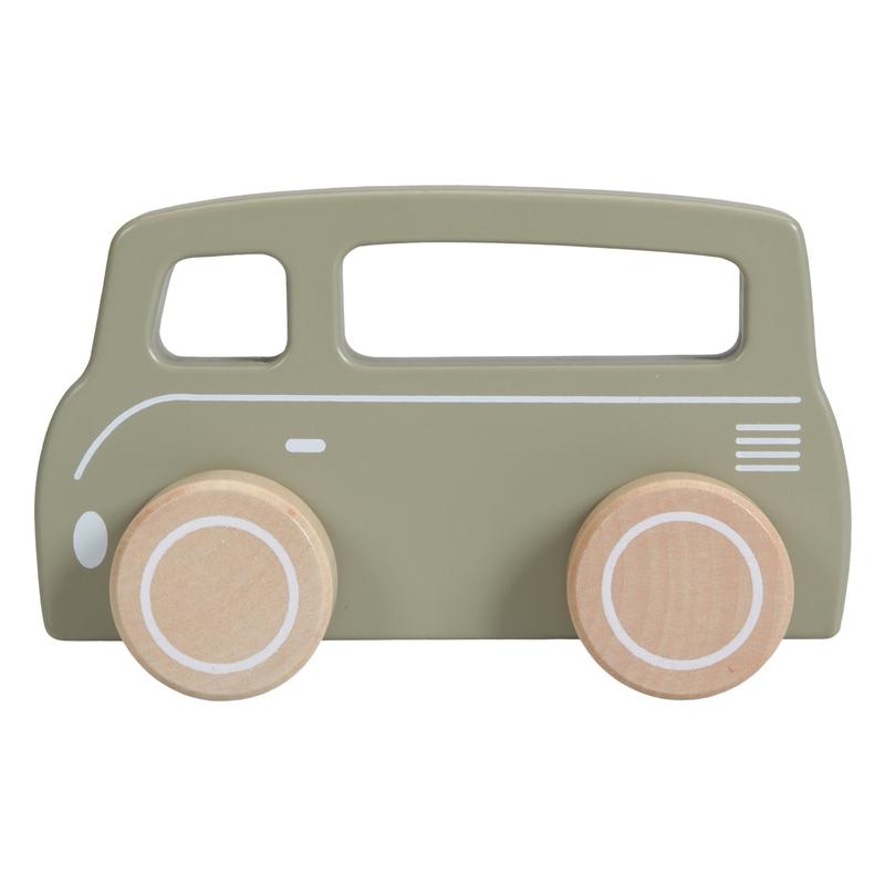 Kinderauto/Bus oliv 13cm ab 1 Jahr