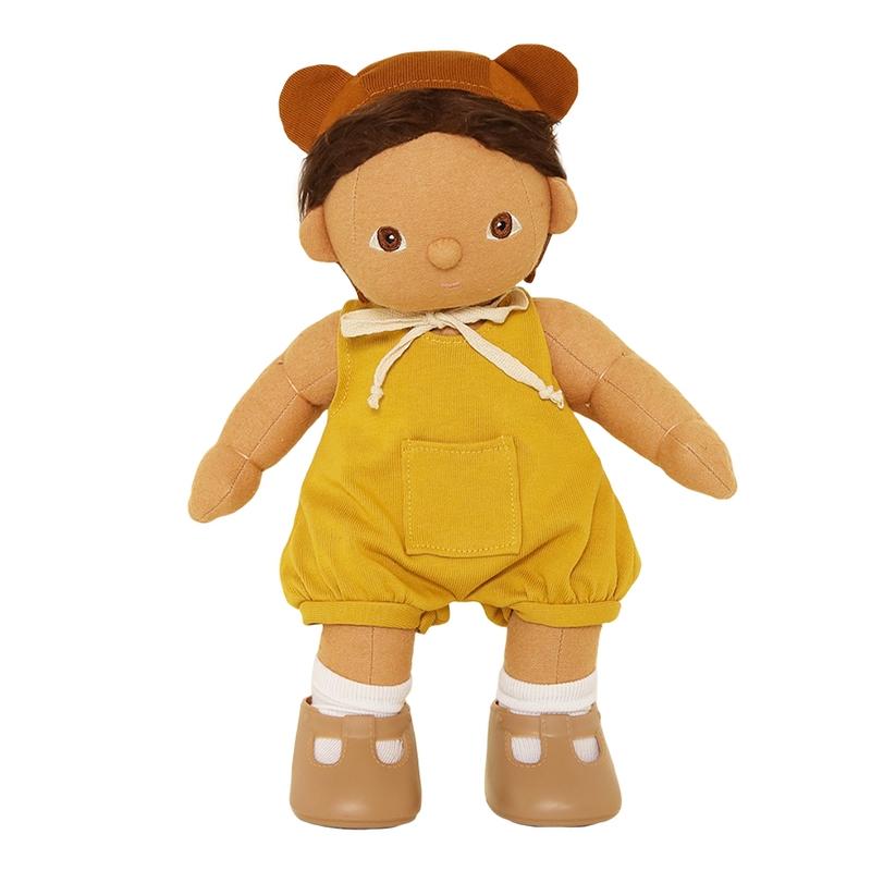 Puppenromper 'Mio' gelb für Dinkum Dolls