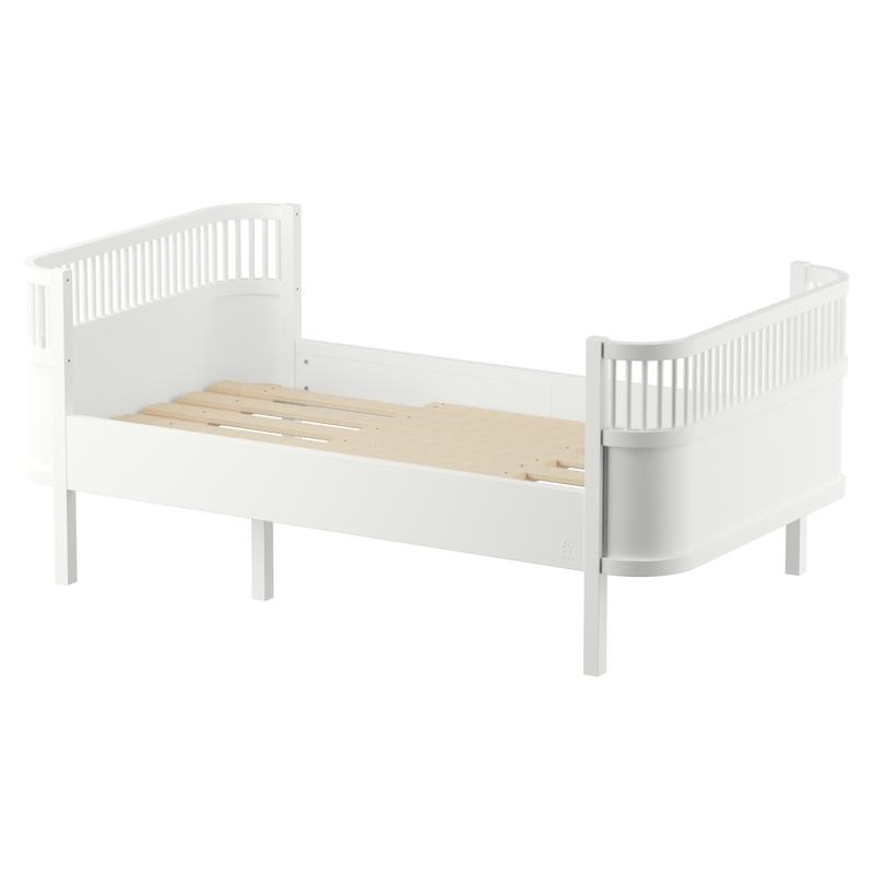 Juniorbett/Kinderbett classic white 90x160/200cm