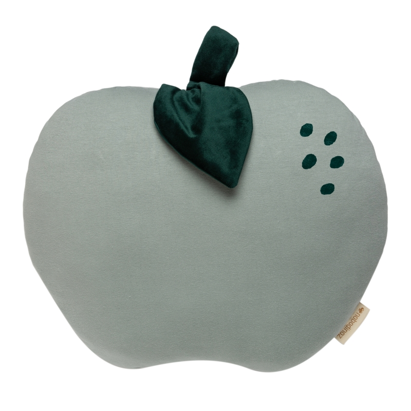 Bio Kissen 'Apfel' jade ca. 32cm