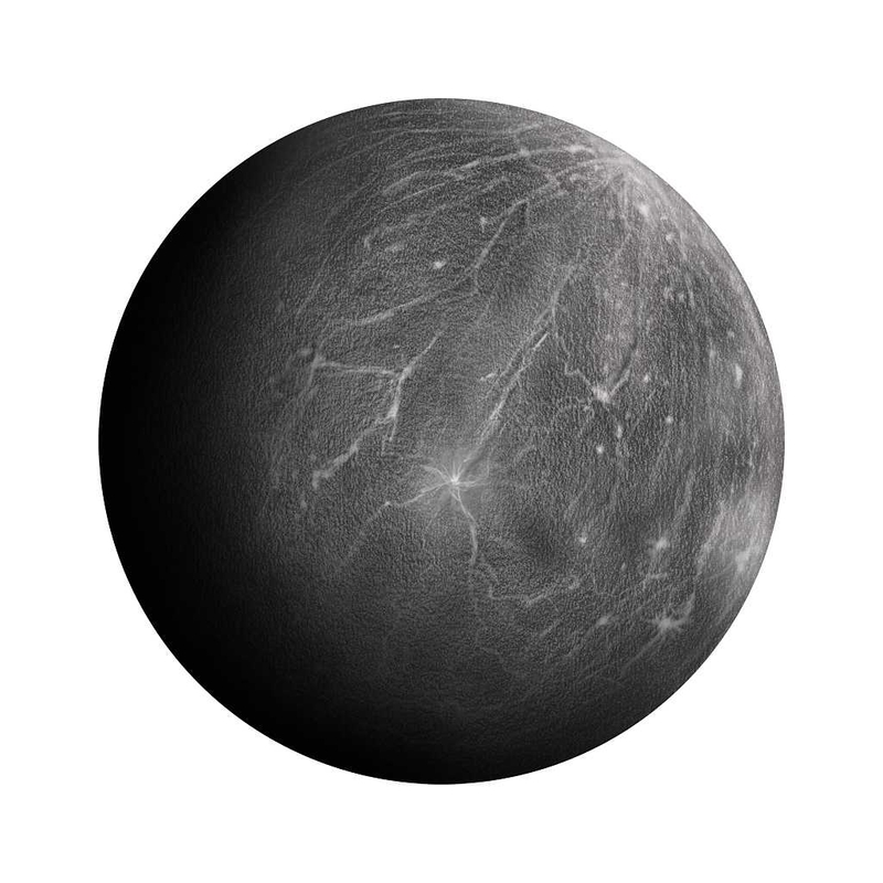 Wandsticker 'Merkur' handgezeichnet
