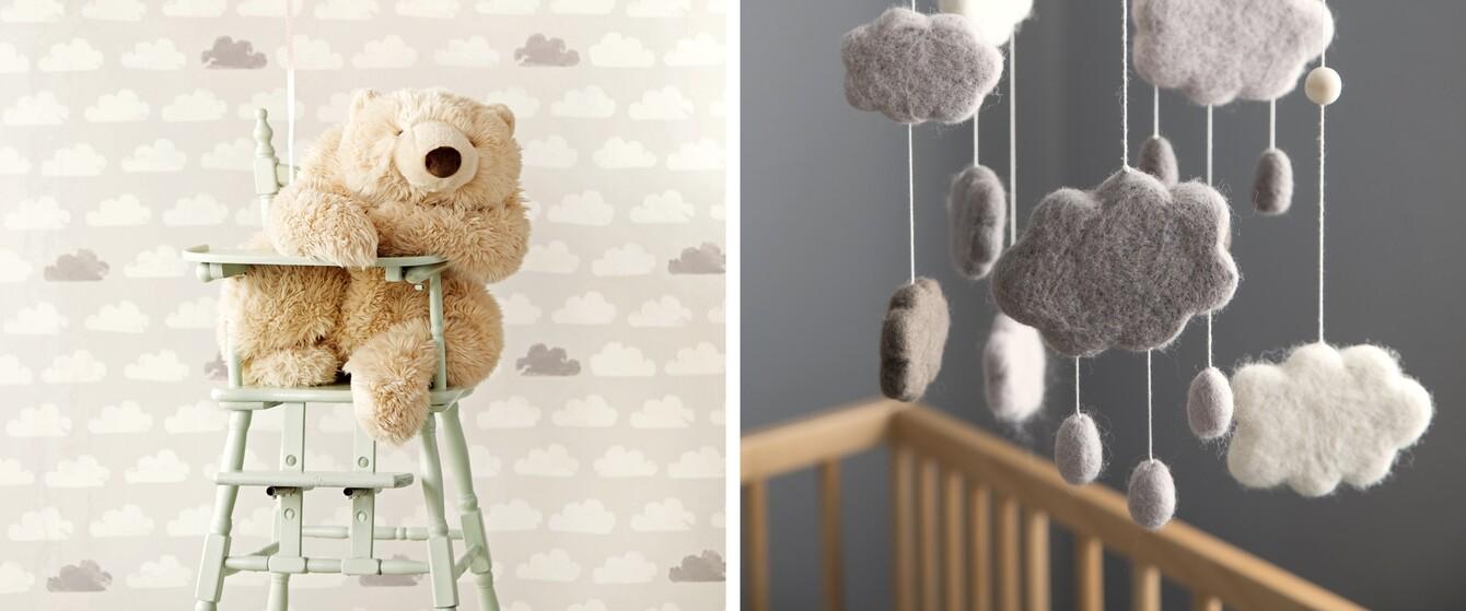 Wolken Kinderzimmer