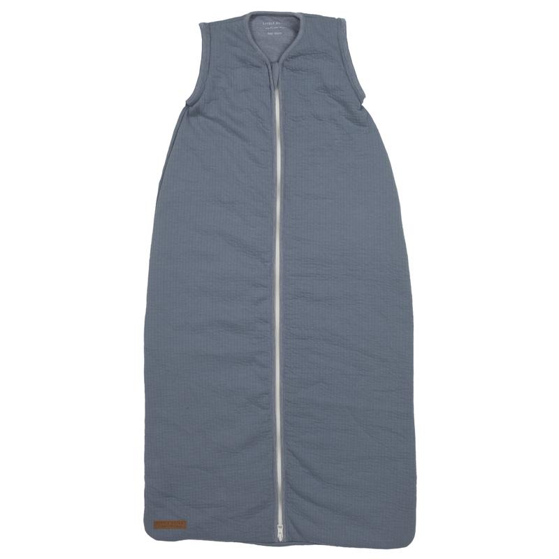Baby Sommerschlafsack 'Pure' rauchblau