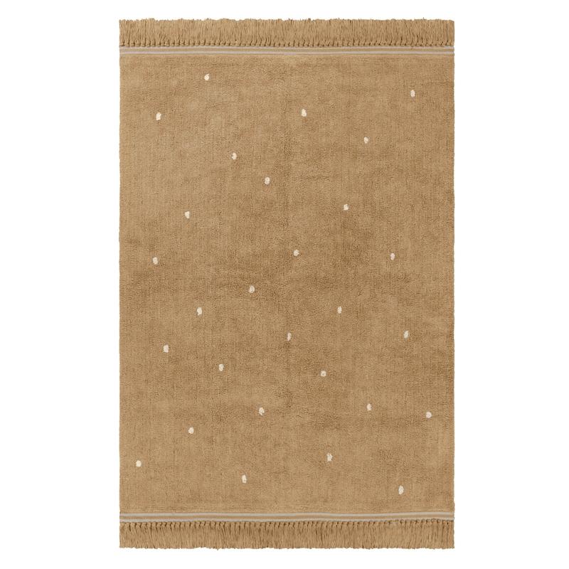 Teppich 'Emily' Punkte beige 120x170cm