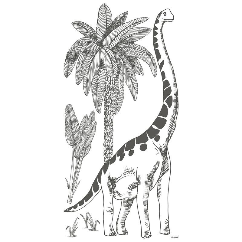 XL-Wandsticker 'Dino' Brontosaurus