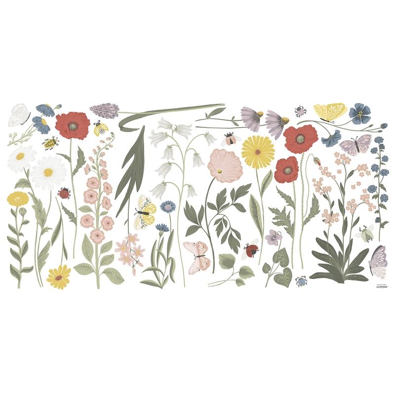 XL-Wandsticker Blumen 'Countryside'