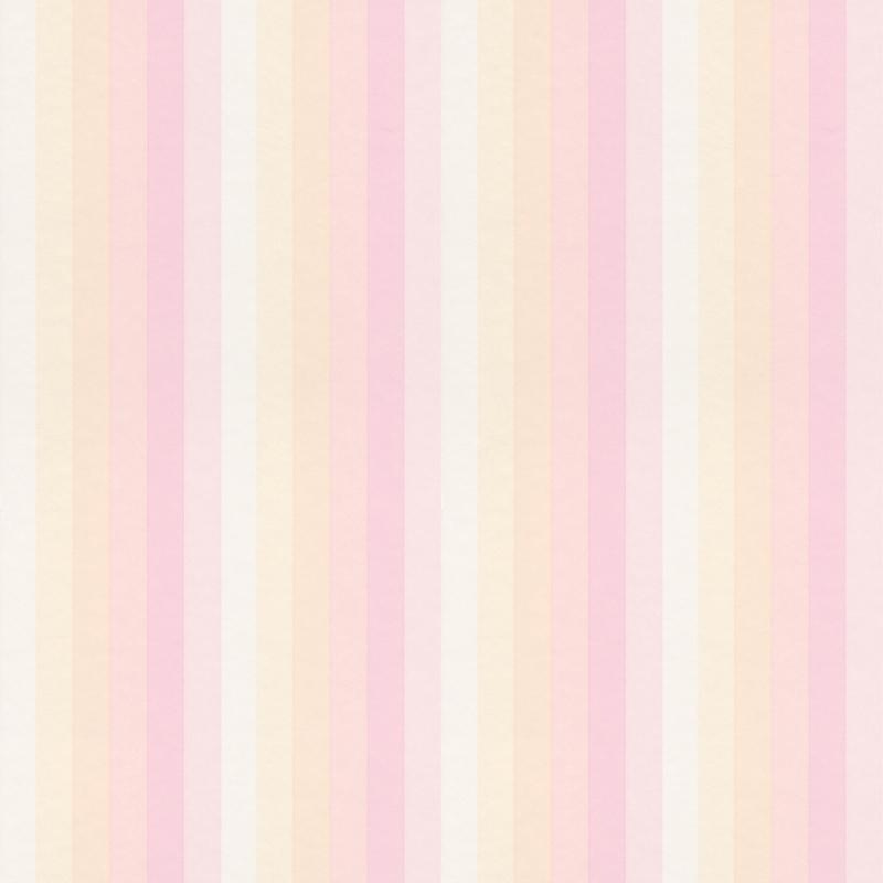 Vliestapete 'Regenbogenstreifen' rosa