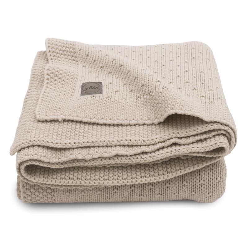 Strickdecke 'Bliss Knit' beige