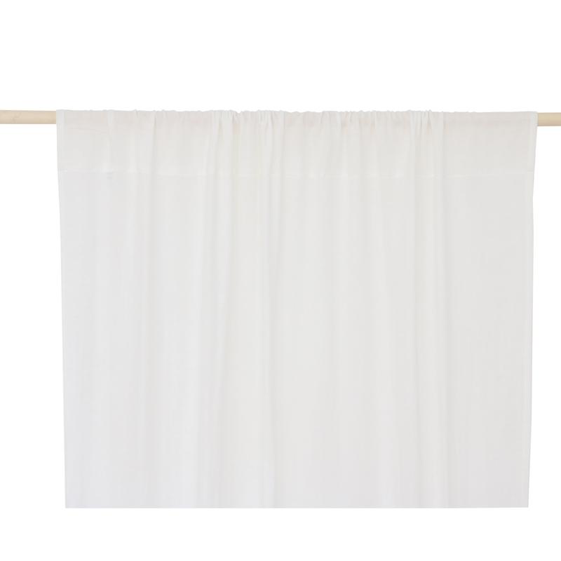 Vorhang Musselin creme ca. 146x280cm