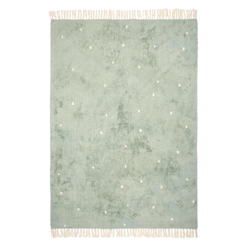 Teppich 'Dot' mint 120x170cm waschbar