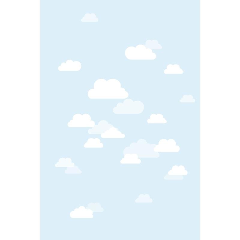 Fototapete 'Wolken' hellblau 186x279cm