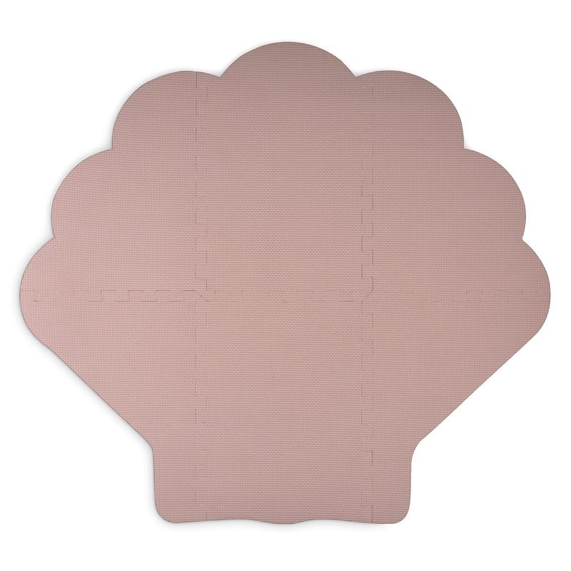Puzzlematte 'Muschel' rosa 110cm