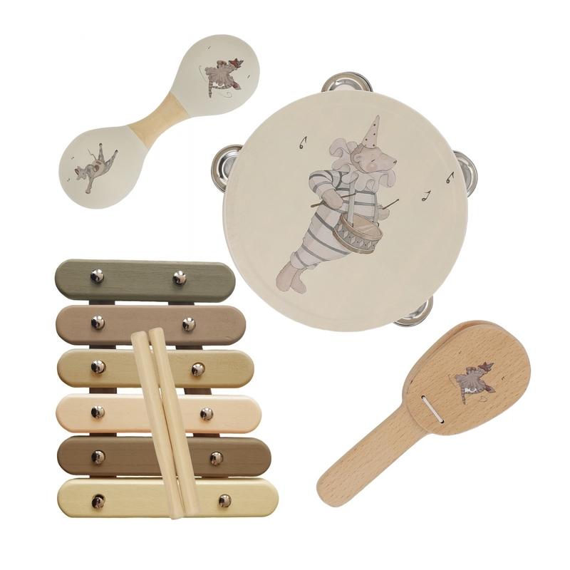 Musikinstrumente im Koffer 'Zirkus' ab 3 Jahren