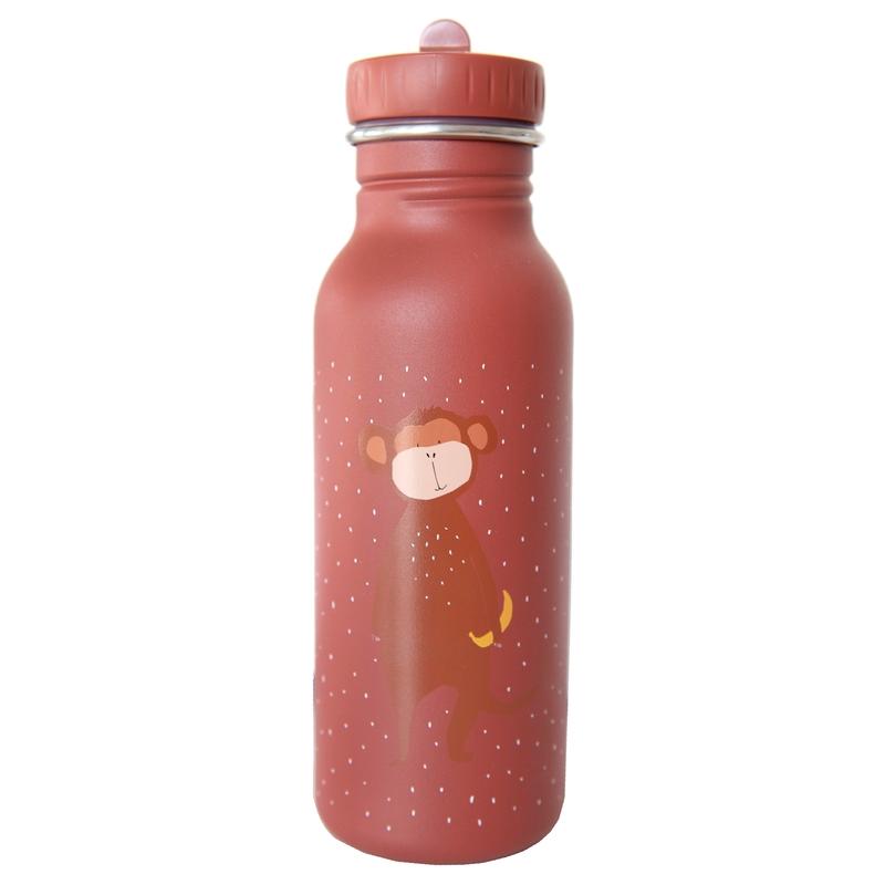 Trinkflasche 'Affe' Edelstahl rostrot 500ml