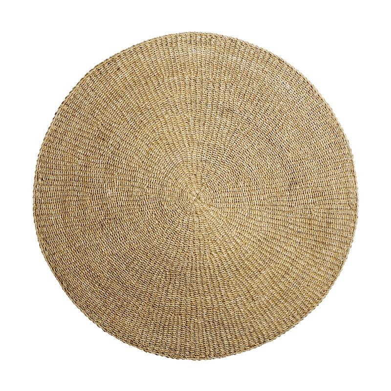 Teppich Seegras rund natur ca. 120cm