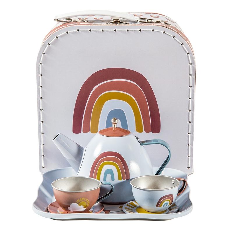 Teeset Metall 'Regenbogen' ab 3 Jahren