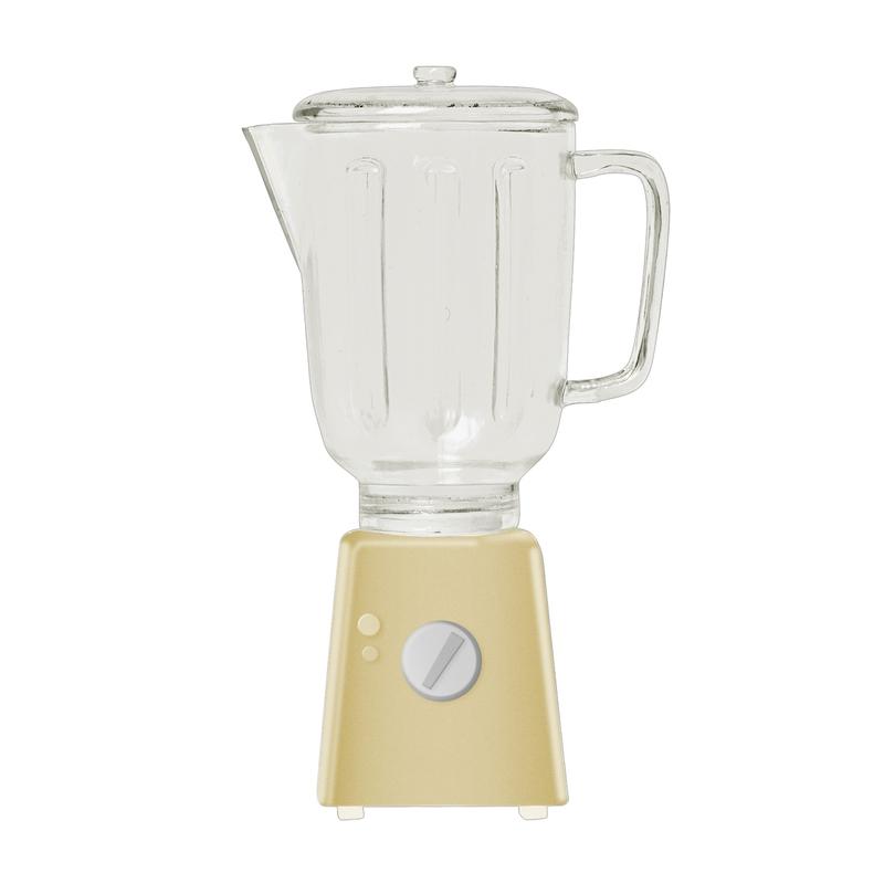 Mixer für Puppenhaus gelb (Mini) ca. 9cm