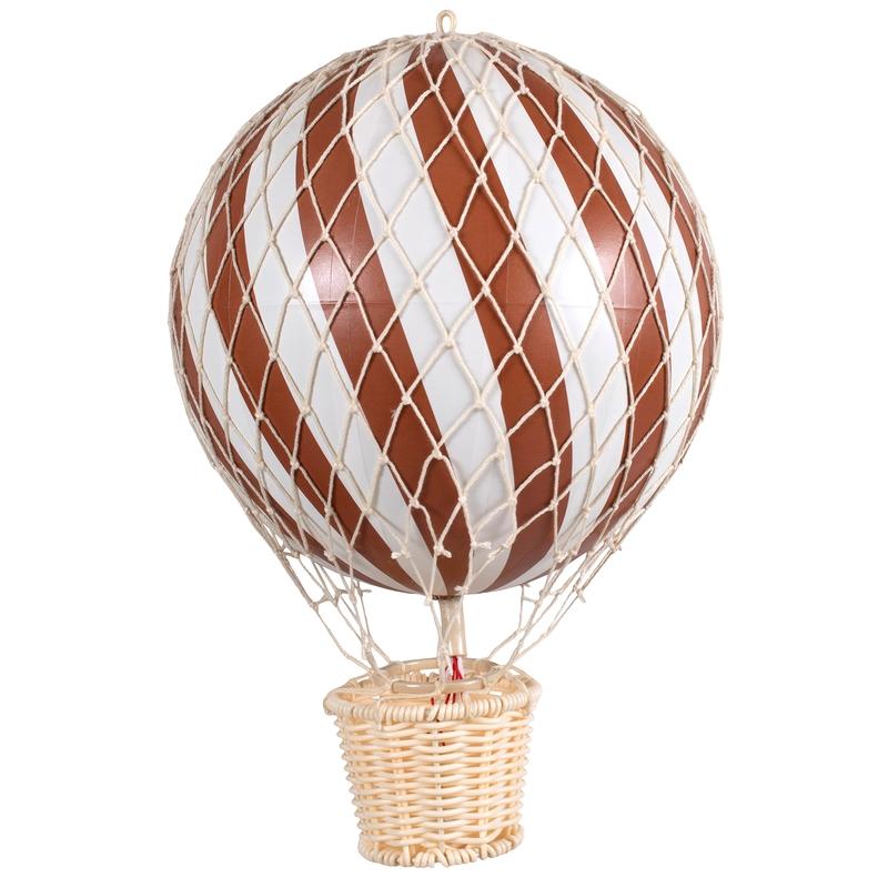 Heißluftballon rost ca. 20cm handmade