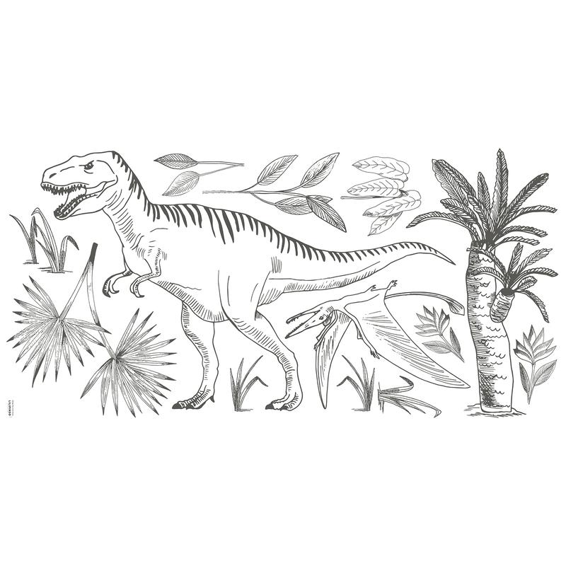 XL-Wandsticker 'Dino' Tyrannosaurus Rex