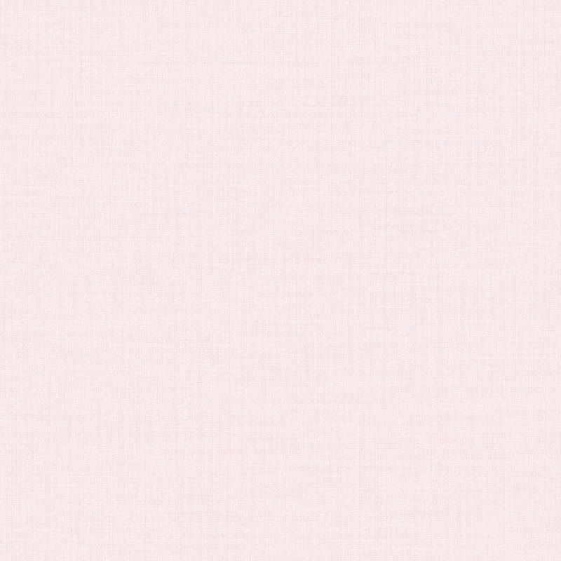 Vliestapete 'Leinenoptik' Uni puderrosa