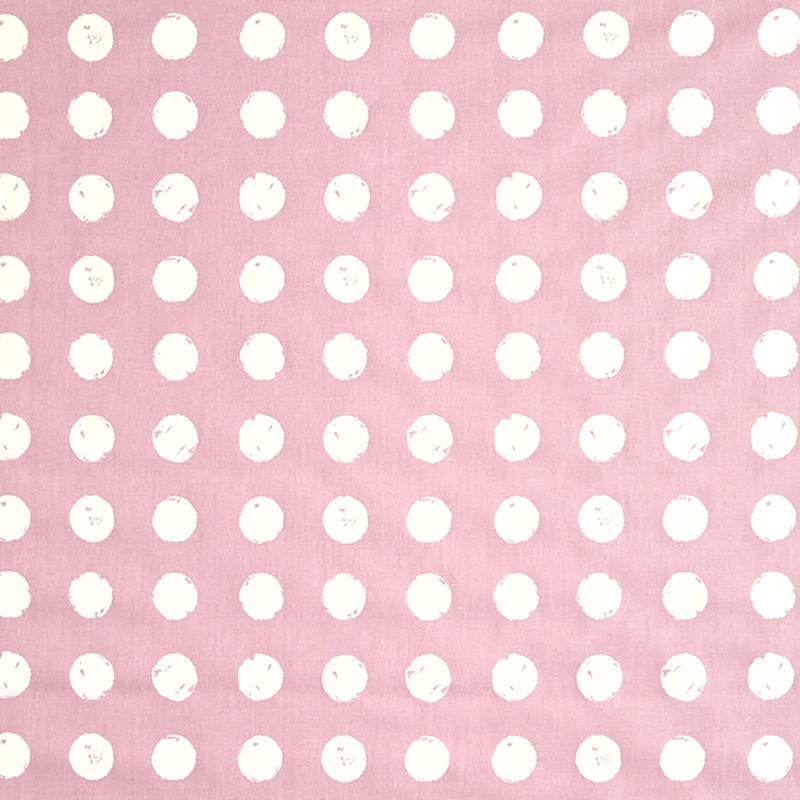 Kinderzimmer Stoff 'Punkte' rosa