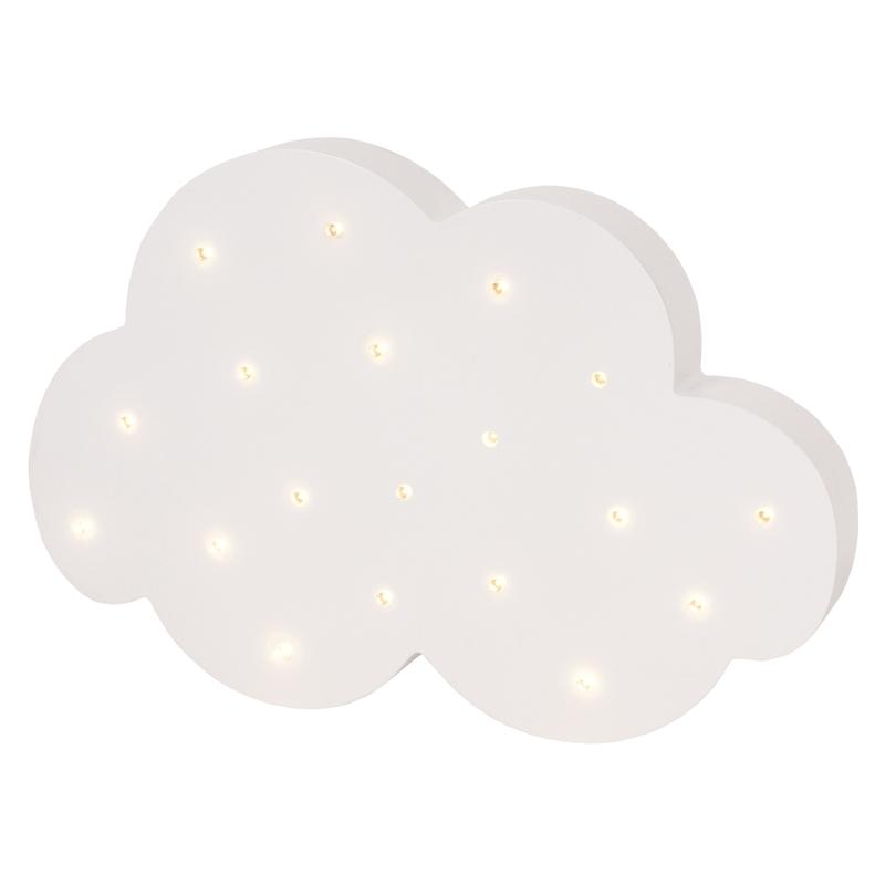 Wandlampe/Tischlampe 'Wolke' LED weiß