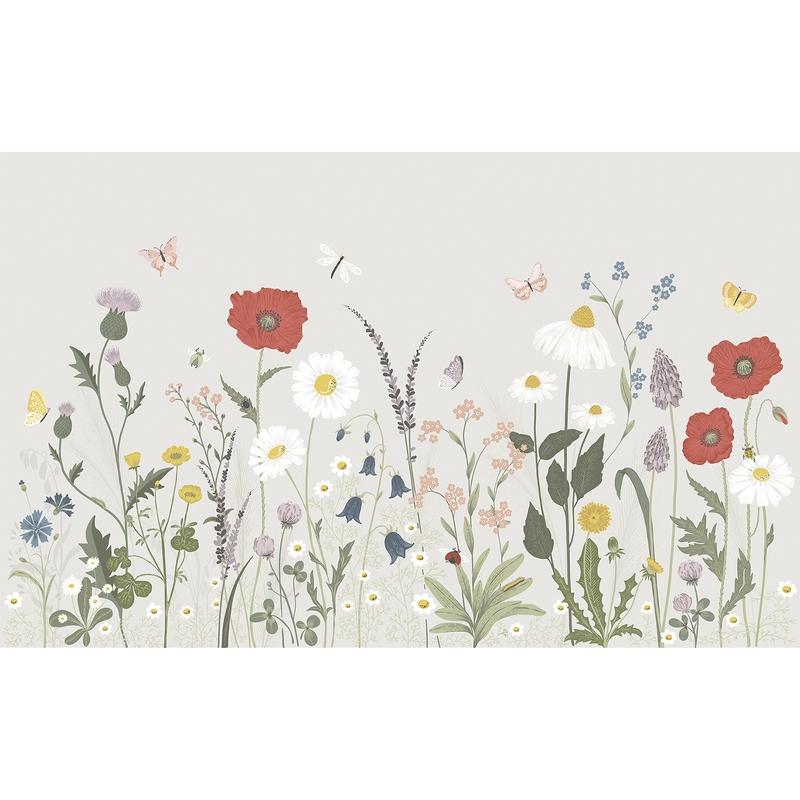 Fototapete 'Country Blumen' 400x248cm
