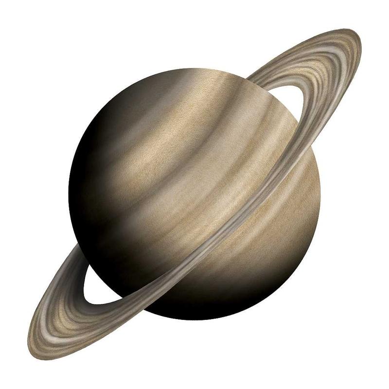 Wandsticker 'Saturn' handgezeichnet