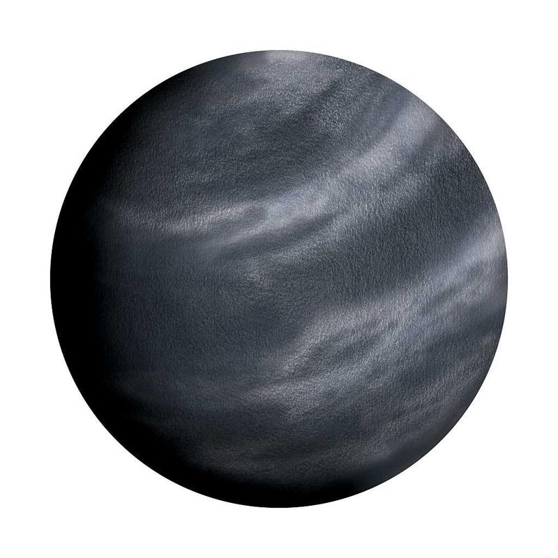 Wandsticker 'Neptun' handgezeichnet