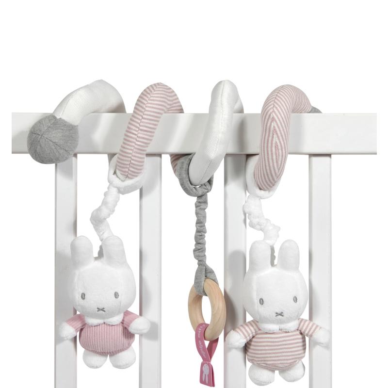 Spielkette Miffy Hase 'Cord' altrosa