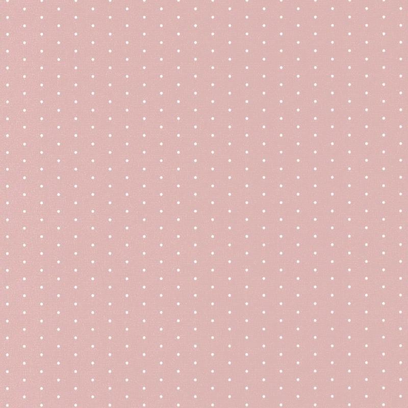 Stoff 'Happy Dreams' Punkte rosa