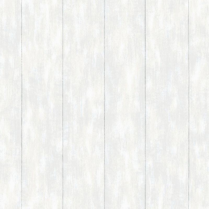 Vliestapete 'Holzpaneele' hellgrau
