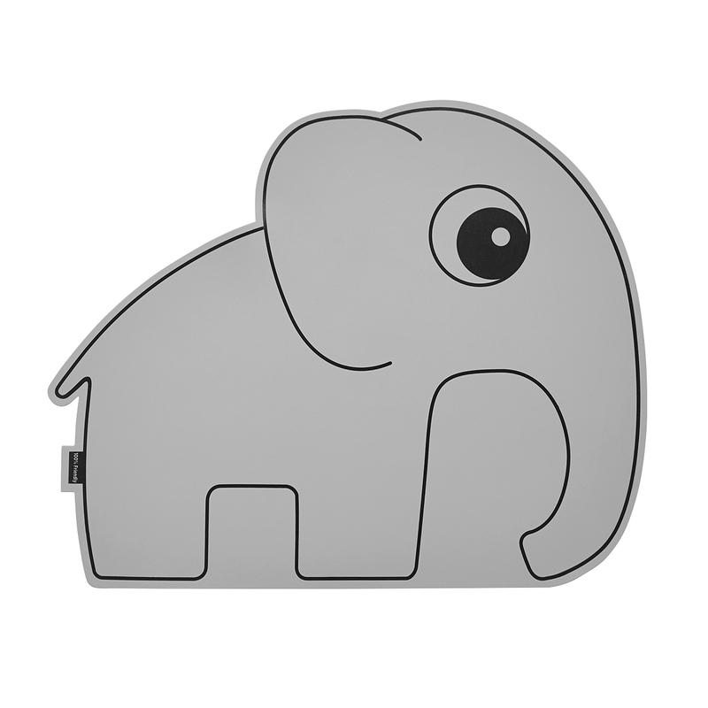 Tischset Elefant 'Elphee' Silikon grau