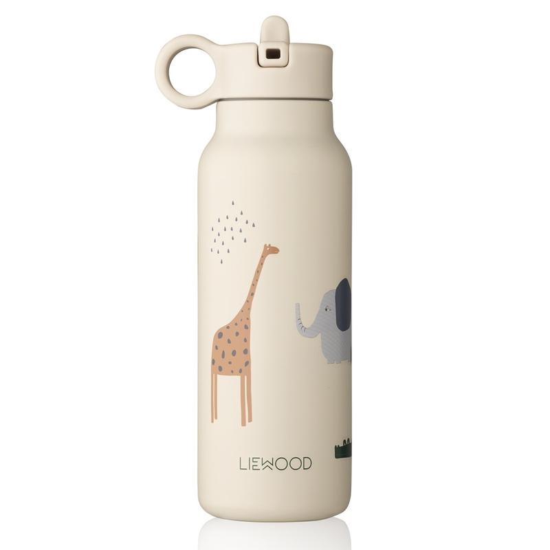 Trinkflasche 'Safari' Edelstahl creme 350ml