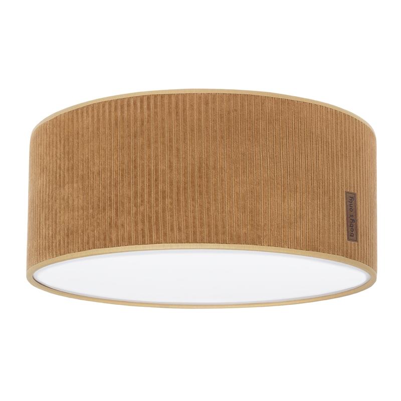 Deckenlampe 'Sense' Samt karamell 35cm