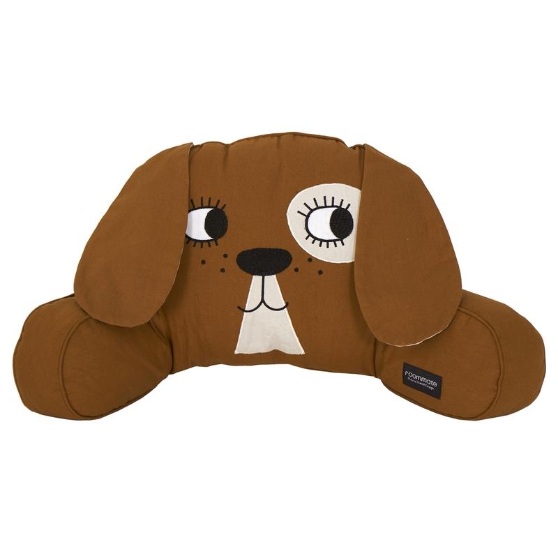 Rückenkissen 'Hund' braun 50cm