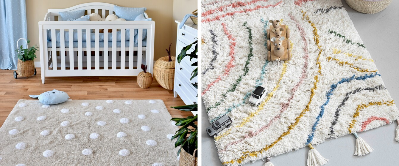Eckige Teppiche