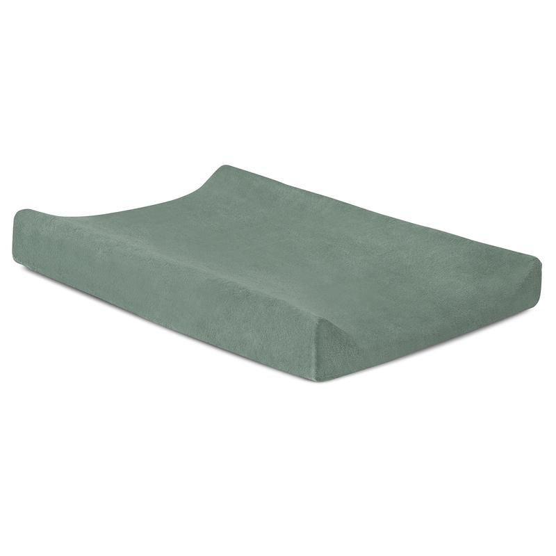 Wickelauflagenbezug Frottee grün 50x70cm
