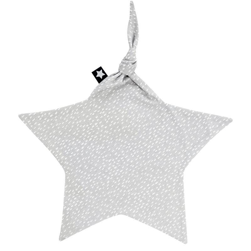 Schnuffeltuch 'Sprinkles' Jersey grau