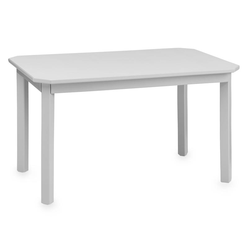 Kindertisch 'Harlequin' Holz grau 79x47cm
