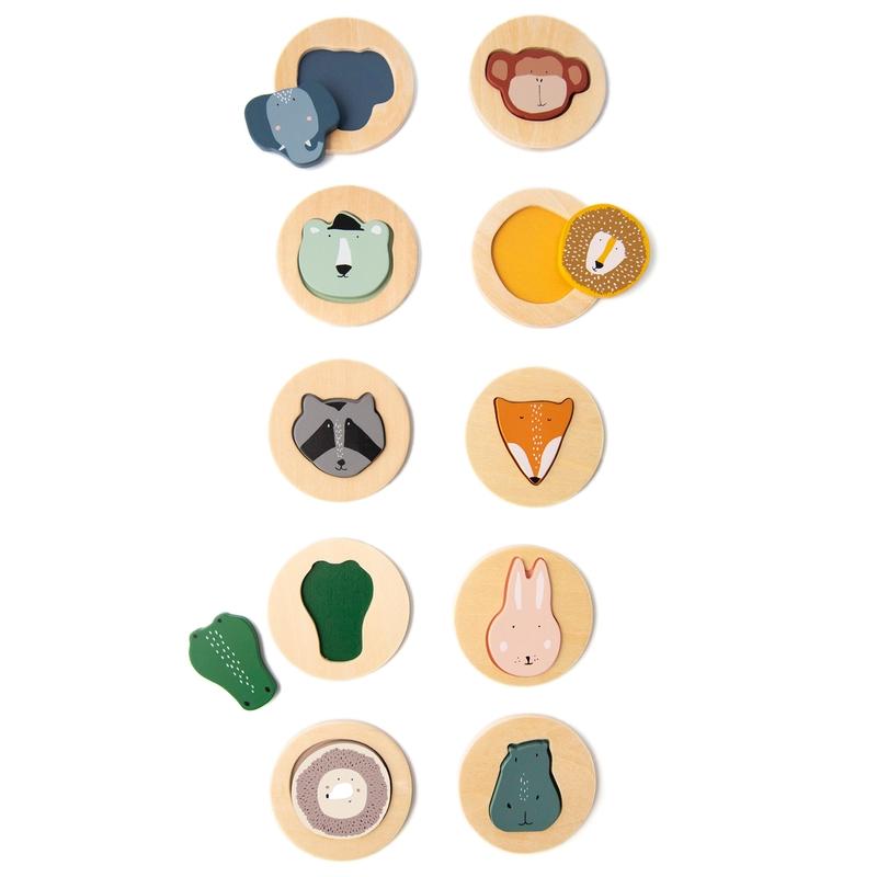 Sortierpuzzle 'Tiere' aus Holz ab 2 Jahren