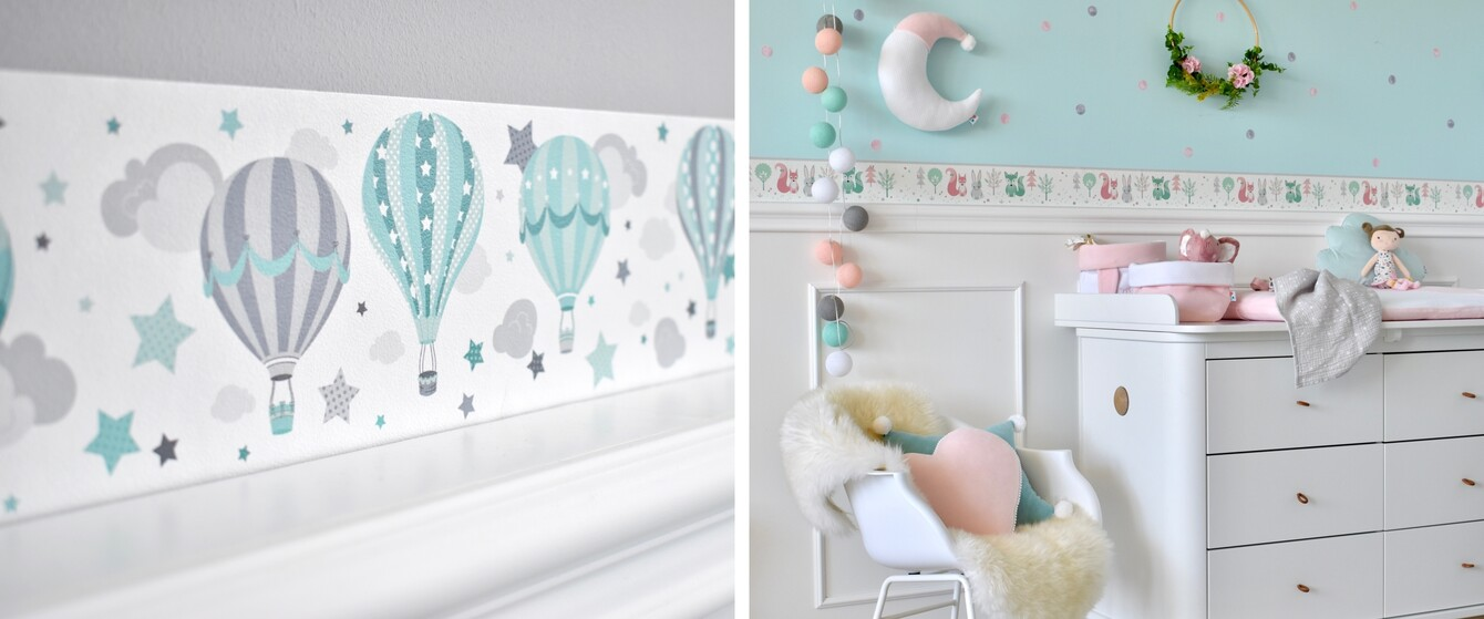 Kinderzimmer Bordüren