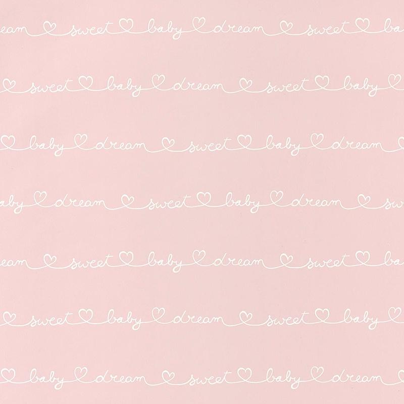 Tapete 'My Little World' Sweet Baby rosa