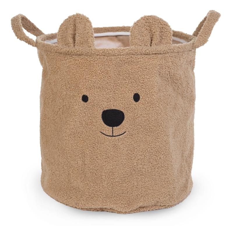 Teddy-Aufbewahrungskorb 'Bär' 40x40cm