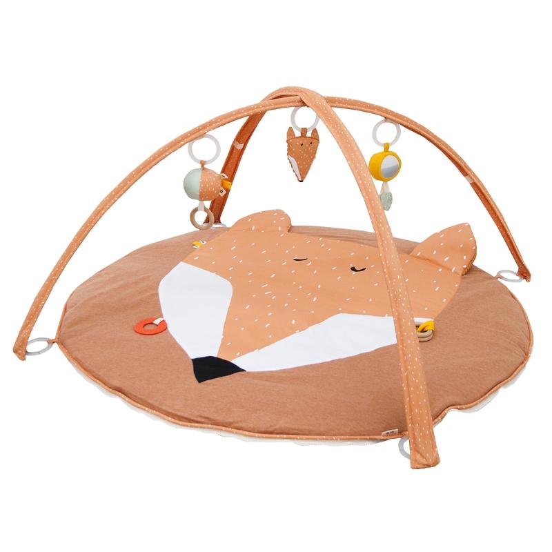 Spielbogen 'Fuchs' Baumwolle orange 100cm