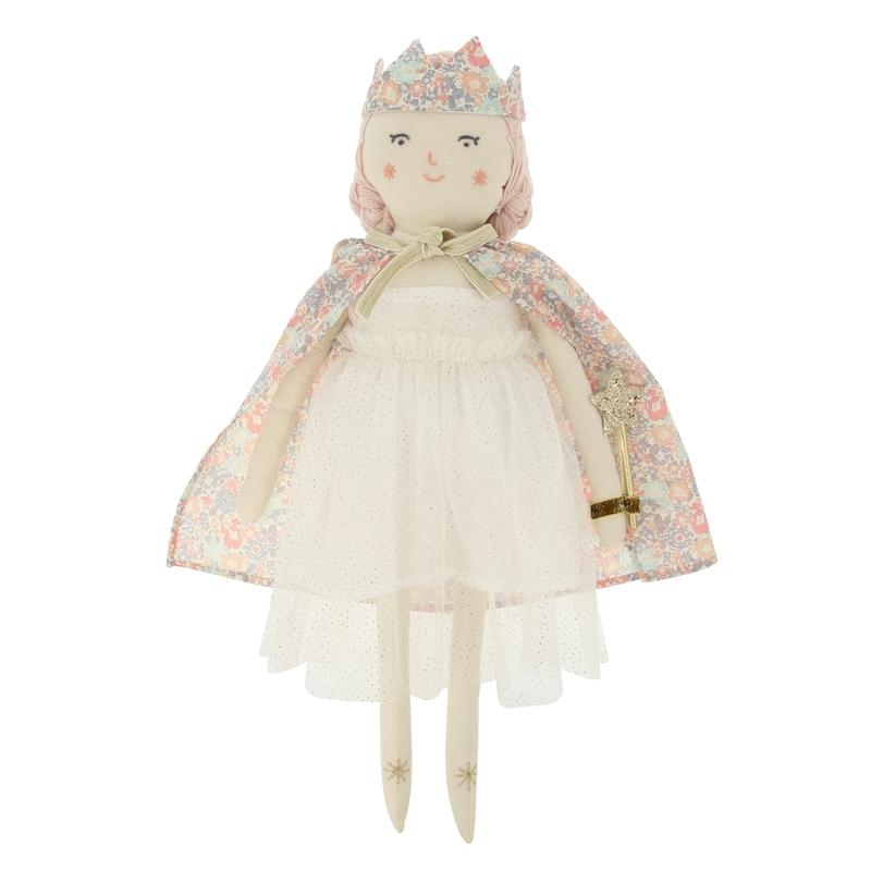 Stoffpuppe 'Prinzessin' creme 47cm ab 3 Jahren