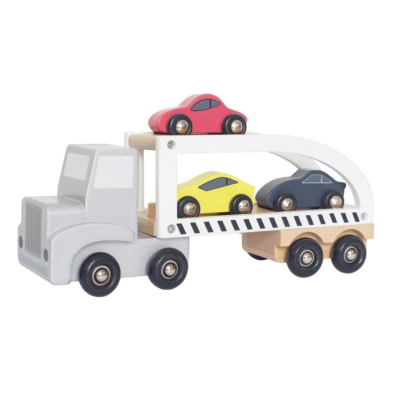 Autotransporter aus Holz ab 18 Monaten