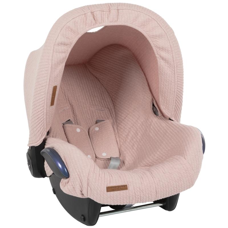 Sonnendach 'Pure' altrosa für Babyschale
